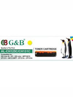 کارتریج زرد G&B HP 131A